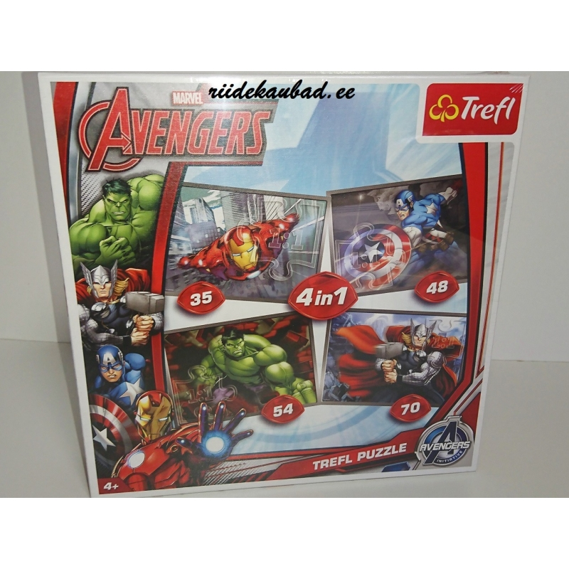 Marvel Avengers pusle 4in1