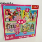 Barbi Trefl pusle 4in1