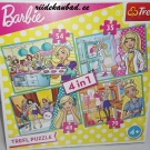Barbie pusle 4in1