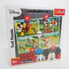 Mikey Mouse Trefl pusle 4in1